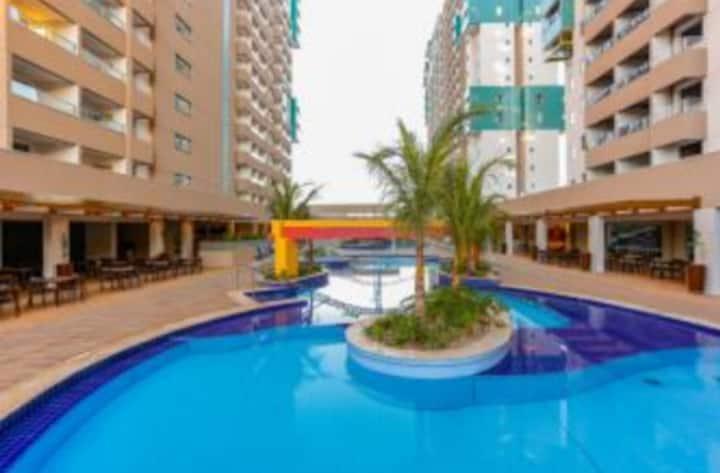 Olímpia Park Resort - Apart 8 pessoas com suite