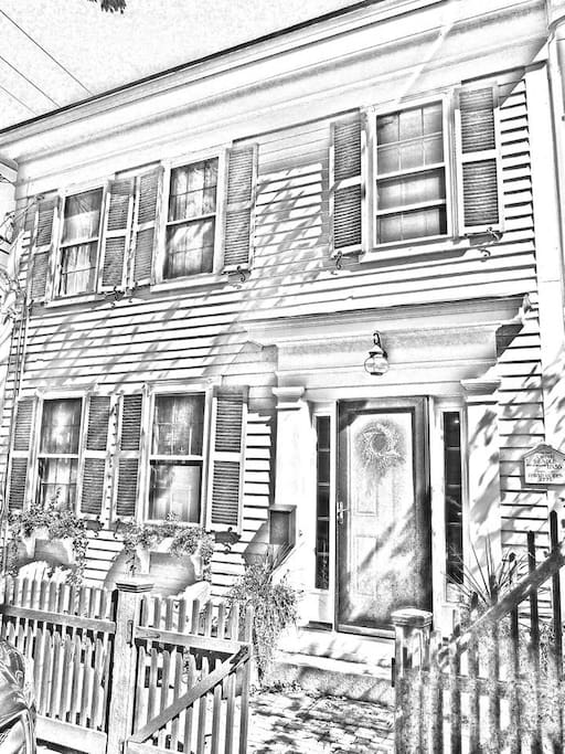 Townhouse style condo