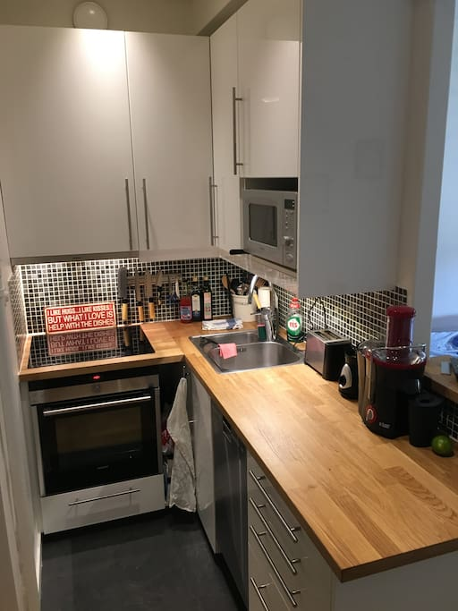 Newly renovated kitchen with everything that you might need.
