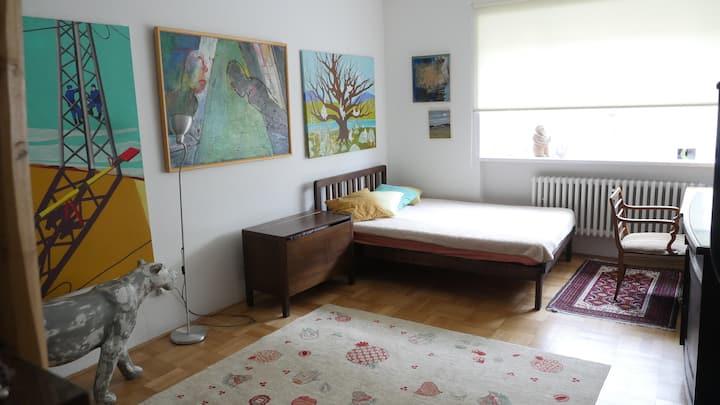 Renovated apartment close to city centre + balcony