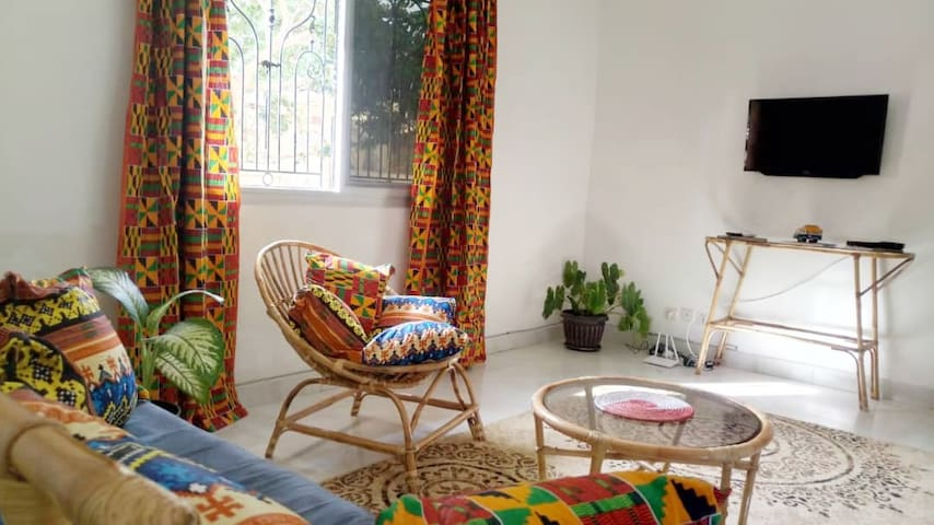 Beautiful rattan apartment