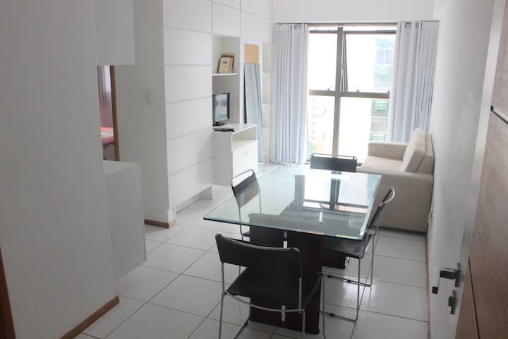 Flat mobiliado Beira-Mar - Recife - Apartment