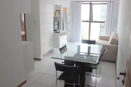 Flat mobiliado Beira-Mar - Recife - Apartamento