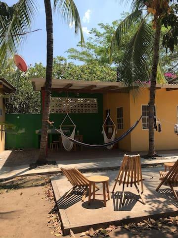 Private Tropical Casita#1 - beach walking distance