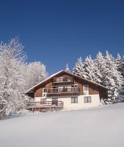 Chalet Nordland, vue sur les Alpes. - Les Rasses - Apartamento