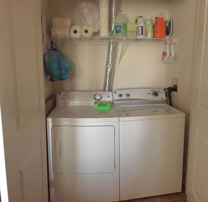 Washer/Dryer in the apartment