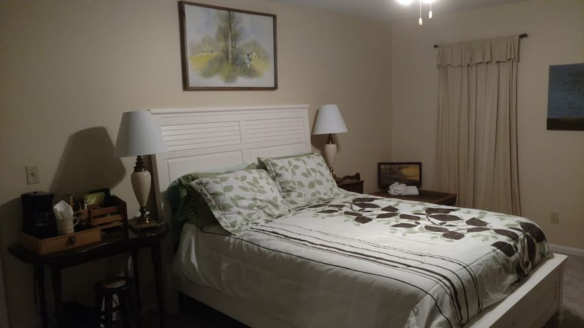 Private Room & Bath, Quiet neighborhood - Saginaw - Casa