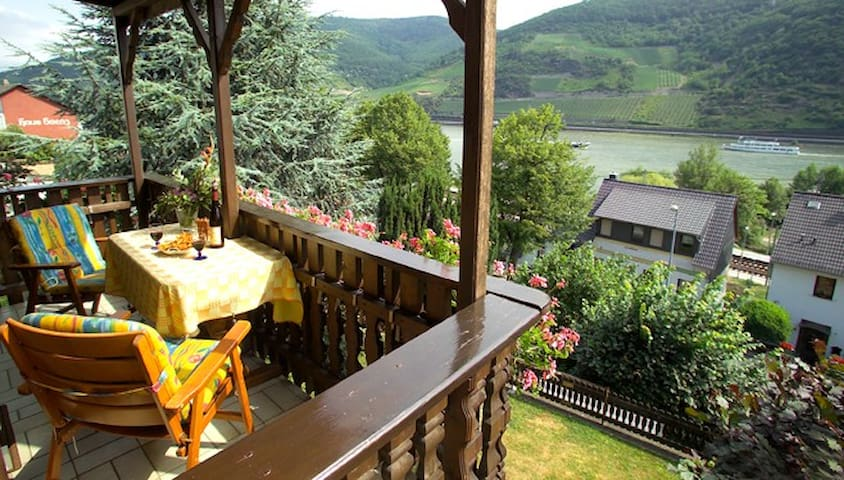 Apartment in the Rhine Valley - Trechtingshausen - Apartament