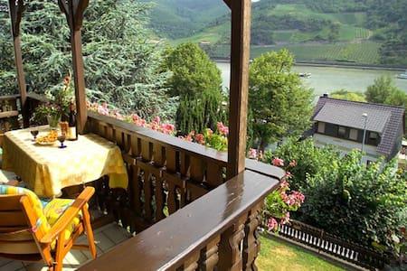 Ferienwohnung im Mittelrheintal - Trechtingshausen - Apartamento