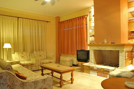 Huge Apartment on Evia, Great View - Loutra Edipsou - Haus