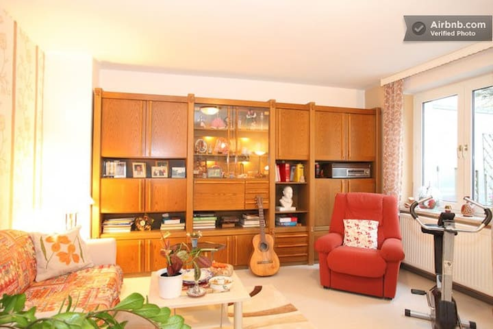 """""""Quiet Large Room"""" with TV  - Frankfurt - Appartement"""