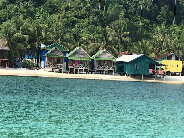 Natura Villager Bungalow on Beach Water