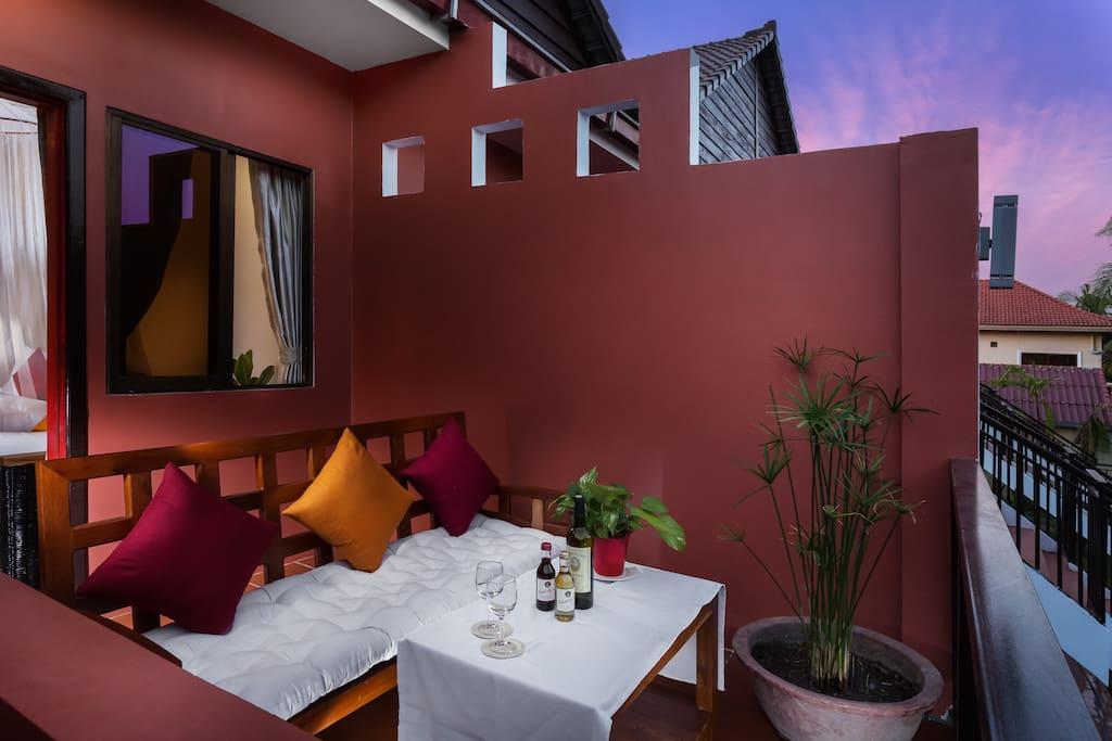 Balcony in Junior King Suite