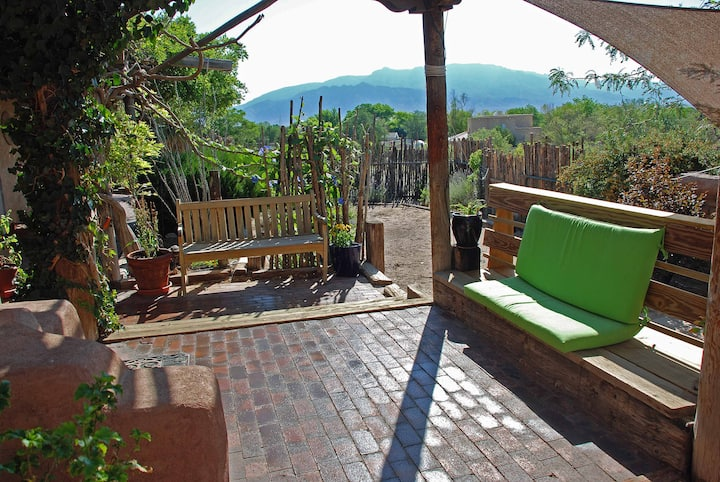 Charming Adobe Hacienda with Views in Corrales