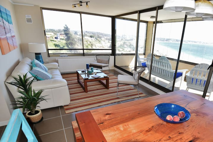 Wonderful Views from Living and Dining areas