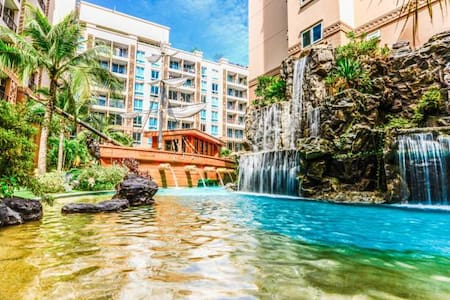 Waterpark apartment 200 meter to Jomtien beach! - Muang Pattaya