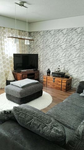85m² Terraced house on two floors and with sauna.