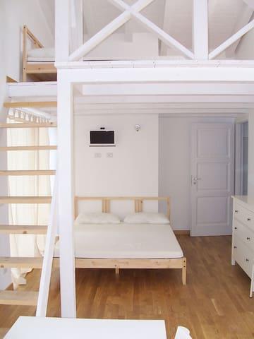 Miniappartamento su 2 livelli