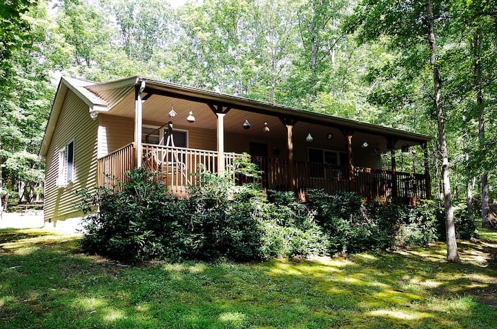 Rustic Home On 24 acres;  Fall is Approaching!