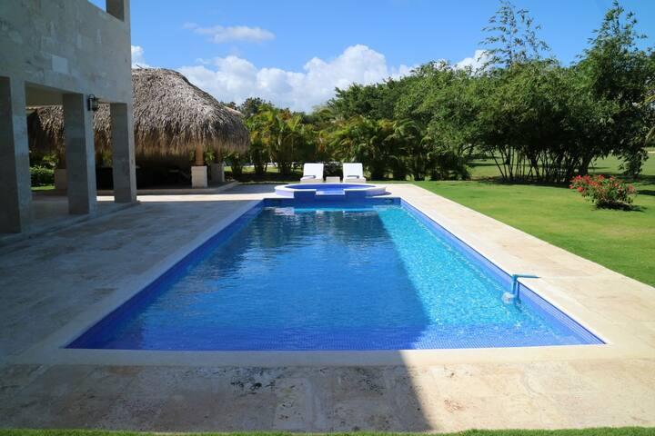 Caribbean villa Amor, electricity included
