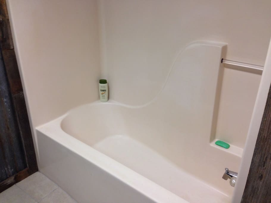 """Take a shower or bath. Hot water set @ 150 degrees because of the small 20 gallon water tank. Please """"don't"""" be as generous with the hot water as normal. Also take all use towel and linen  at the end of your stay in the provided laundry bag."""