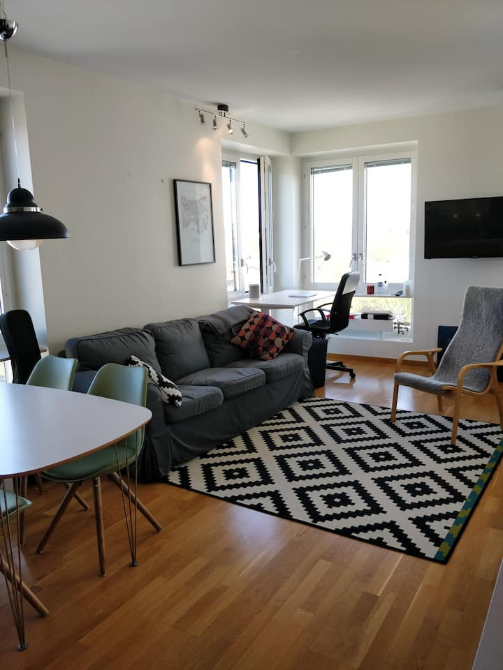 Modern studio apartment in central Lund