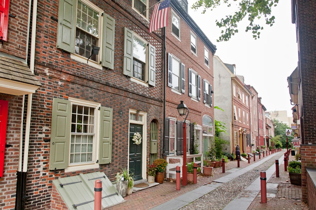 Historic Oldest Street In The Usa Houses For Rent In