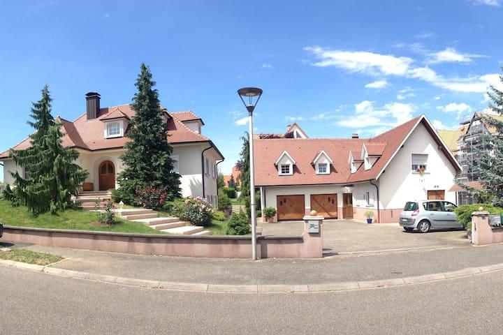 Logement privatif, entre Strasbourg et Colmar