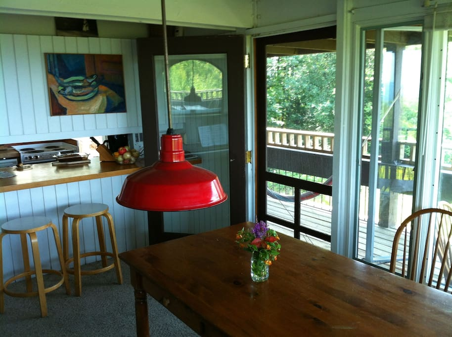 Dinning room and porch