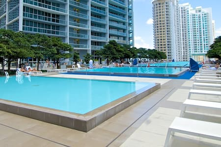 BOOK NOW: Gorgeous Condo at THE W! 75%OFF - Miami - Flat