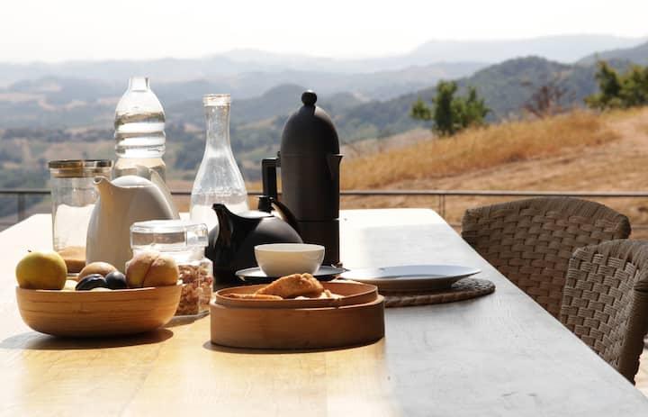 Relax nelle colline di Reggio