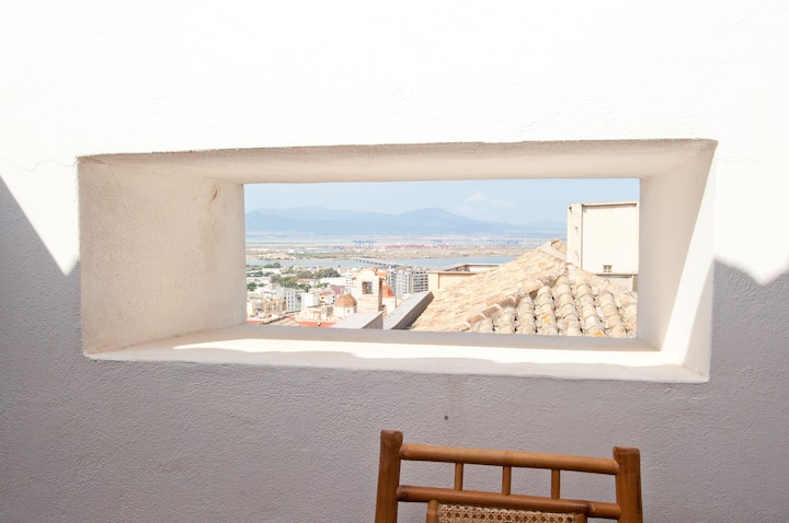 apartment with panoramic terrace