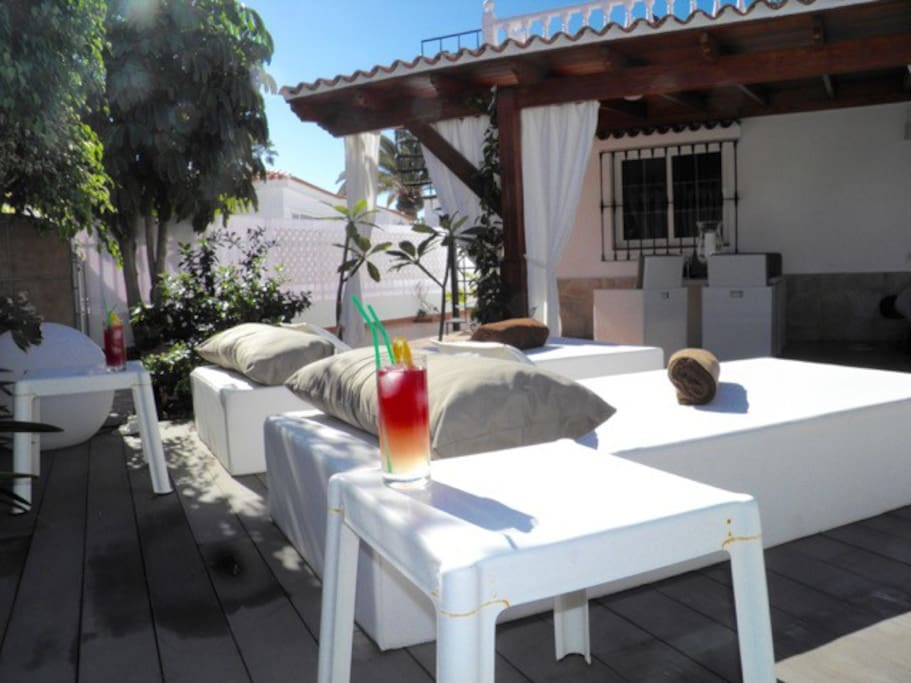 Chill out sun terrace