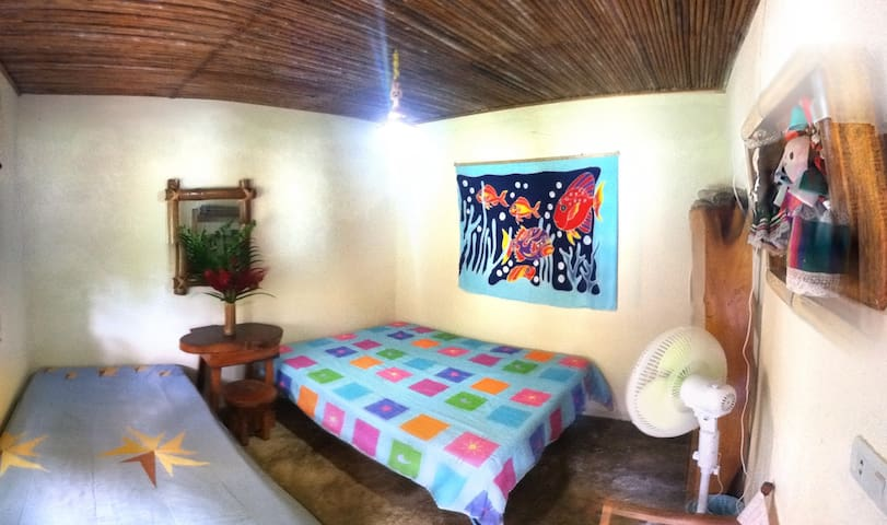 Room in house surrounded by nature - Guachaca - Ház