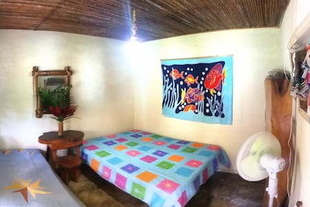 Room in house surrounded by nature - Guachaca