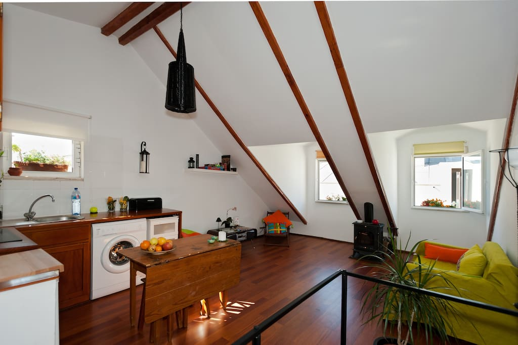 Open Space - Kitchen and Living Room