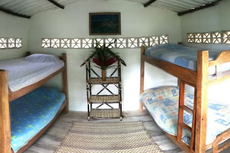 bunkbeds room  surrounded by nature - Guachaca - Haus
