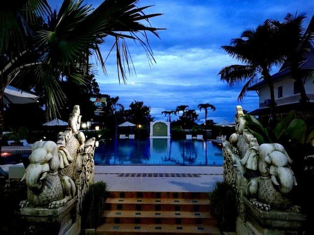 爱清迈泳池度假别墅168/21 ICM Restort - Chiangmai - Casa de camp