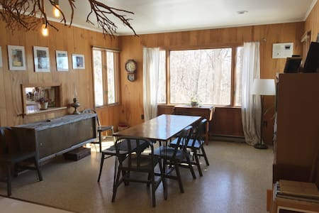 Quiet Mid Century Nook Minutes to Hudson - Claverack-Red Mills - House