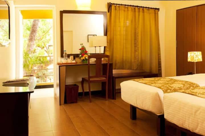 Annsun Bed & Breakfast - Bed room 1, chennai