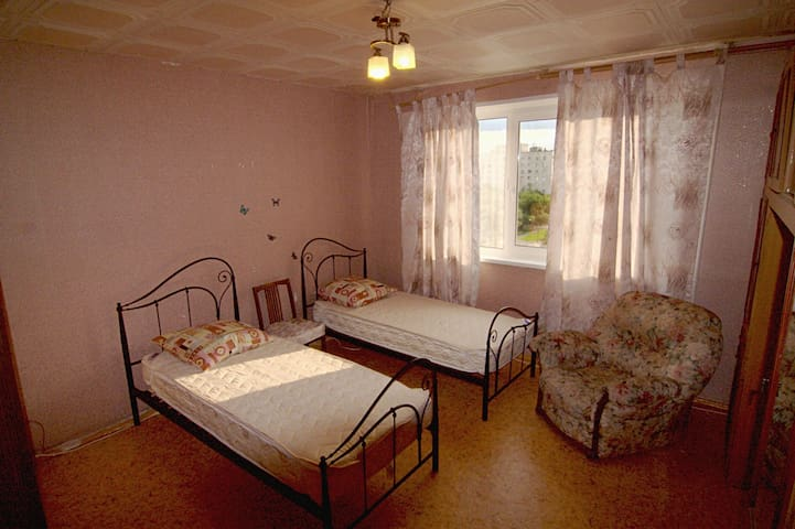 2 beds + 1 add. bed at the appartm. - Moscú - Bed & Breakfast