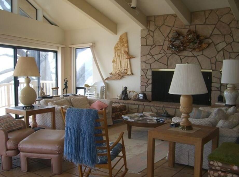 Living Room Ocean Front