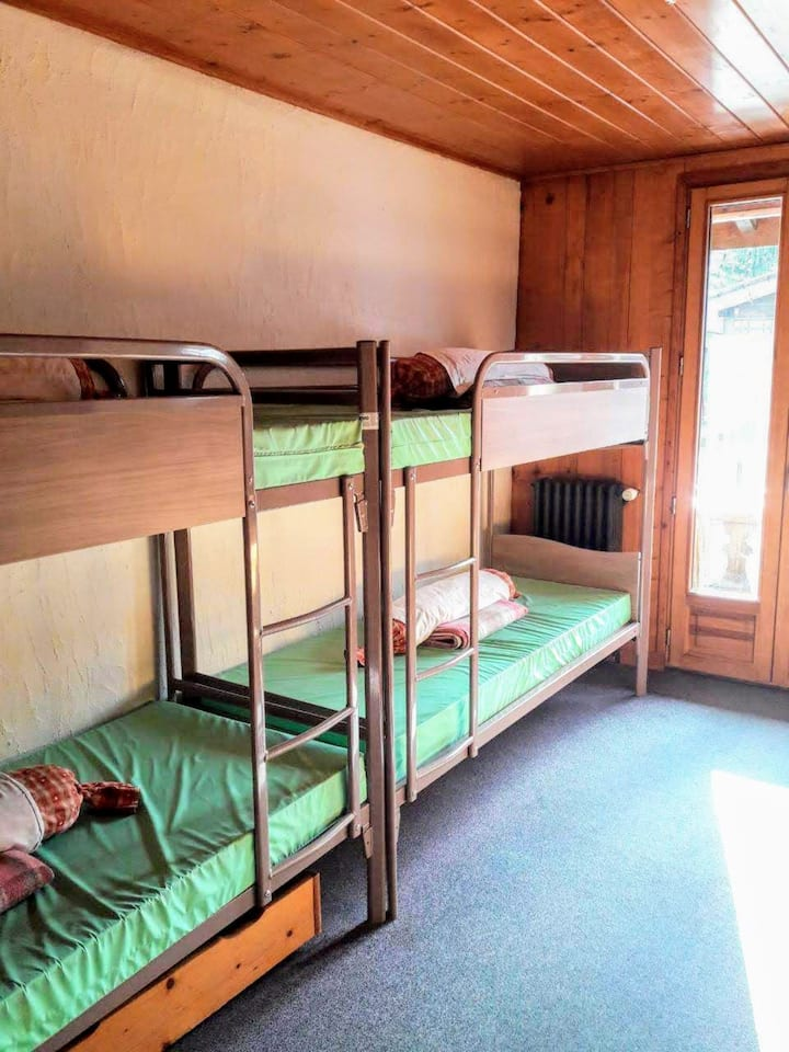 Chamoniard Volant Gite, Chamonix, dortoir Mt-Blanc