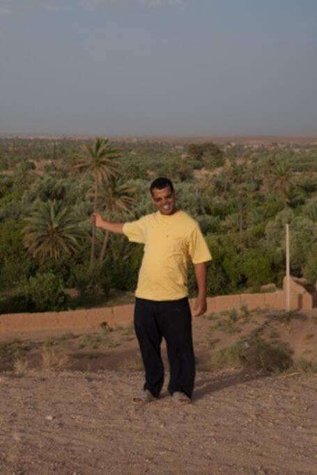 Mohammed, votre hôte et guide natif de Skoura