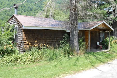 Catskill Cabins with Fireplace 3 br - Big Indian - Cabin