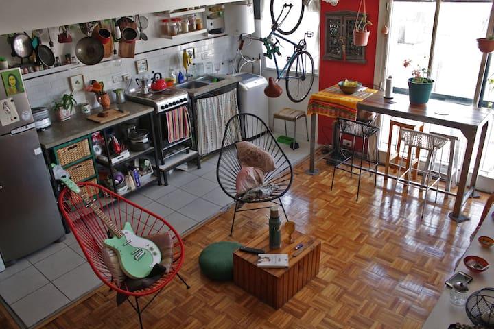 Departamento de 3 ambientes en San Cristóbal