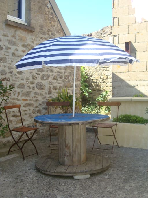 petite terrasse privée
