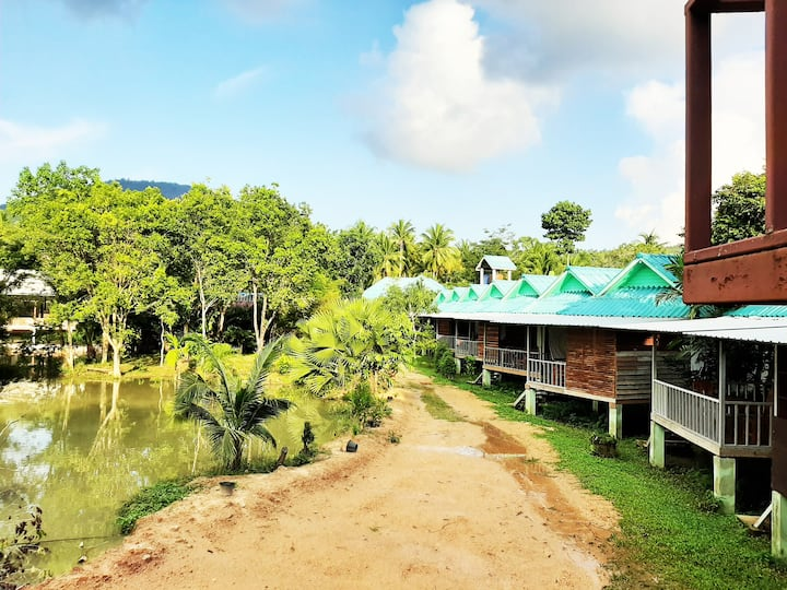 Phangan farm stay 104 Eco farming