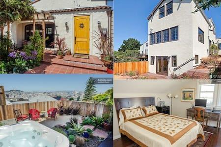 Potrero Paradise: Lux, Hot Tub, Balcony w Views! - San Francisco