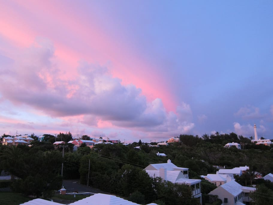 Bermuda at sunset